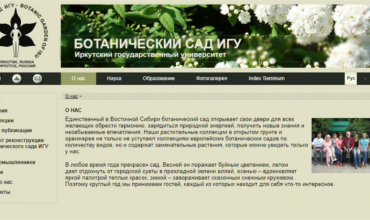 ботанический сад иркутска